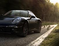 Porsche Carrera S renders