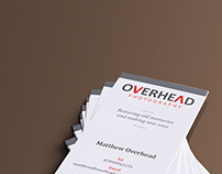 Overhead Photography - Logo & Business Cards