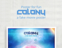 Colony - a fake movie poster