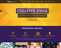 Swag - FREE Parallax PSD Download