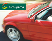 Groupama - Online Car Insurance Form / UI Project