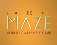 THE MAZE - An interactive labyrinth game