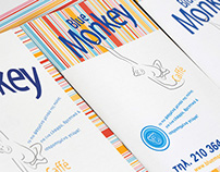 blue monkey caffé | identity
