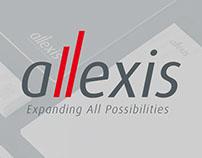 ALLEXIS corporate identity