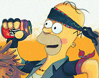 THE SIMPSONS TRIBUTE