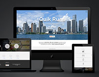 Website Redesign :: Quik Runs
