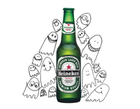 Heineken: Draws the crowds