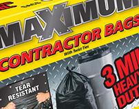 Maximum Brand Contractor Bag