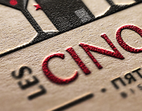 LES CINQ SENS. Bistronomia logo.