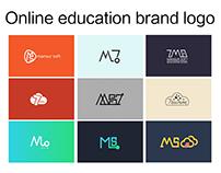 Online education brand logo