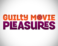 Guilty Movie Pleasures logo, on-air HD graphic, ad