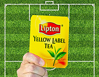 Print and Digital Strategy for Lipton During World Cup