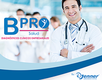 Brochure for B-pro by Jenner