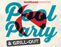 Pool Party & Grill Out Poster & Social Media Promos
