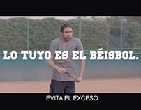 """TV """"lo tuyo es el Béisbol""""- Carta Blanca"""