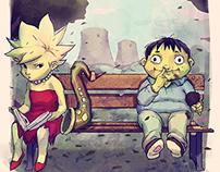 Lisa and Ralph
