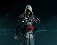 Assassin's Creed 4 : Black Flag, Edward Kenway