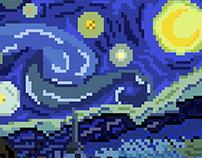 Clássicos em Pixel Art | Ilustração