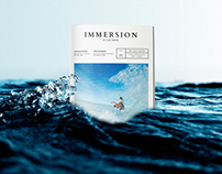 "IMMERSION - In the Wave -  ""Surf Magazine"""