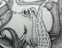 Octopus by dot
