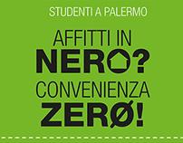 """""""Affitti in nero"""" campaign for Sportello Casa"""