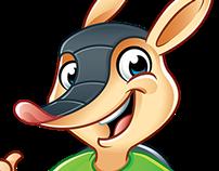 Logo + Character DilloMat