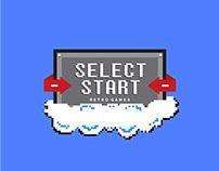 Select Start Retro Games | Branding