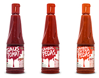 Aneka Food Chili & Tomato Sauce Packaging