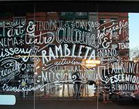 La Rambleta | Hand-lettering