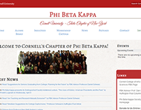 Cornell Phi Beta Kappa Website