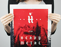 H is for Heavy Metal