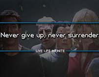 Live Life Infinite - Motivational Quotes