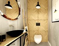 private house near Krakow ~ small bathroom