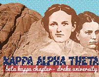 Kappa Alpha Theta - Beta Kappa Chapter Branding