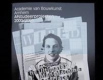 Yearbook Academy of Architecture Arnhem 2001