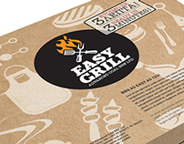 Instant Grill Packaging Design