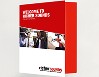 Richer Sounds Receipt Card