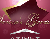 Season's Greetings for Azimuth Yachts