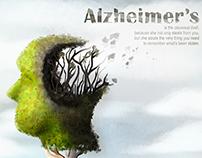 alzheimer's, inspired : digital painting