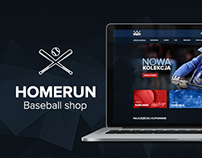 Homerun.pl - Baseball shop