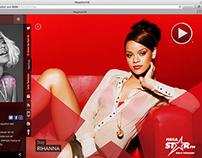 Megastar.fm | Digital Radio Web App