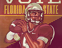 ESPN - College Football Campaign Posters