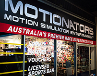Motionators Shopfront and Signage