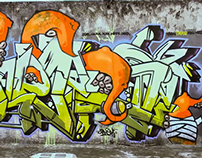 Zick Cero Tres - Graffiti Guatemala Wildstyle