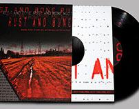 Rust and Bone - Vinyl Record Design