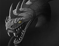 Jormungandr Head Studies