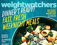 "magazine cover: ""Dinner's Ready!"""