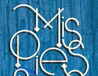 Pa tí -lettering