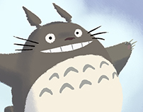 Totoro for my little daughter