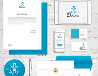 Identidade visual Downy/ Visual identity Downy Company